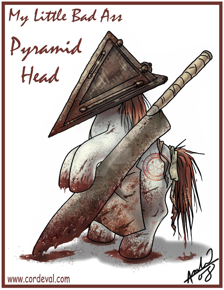 My Little Bad Ass Pyramid Head by Amelie-ami-chan
