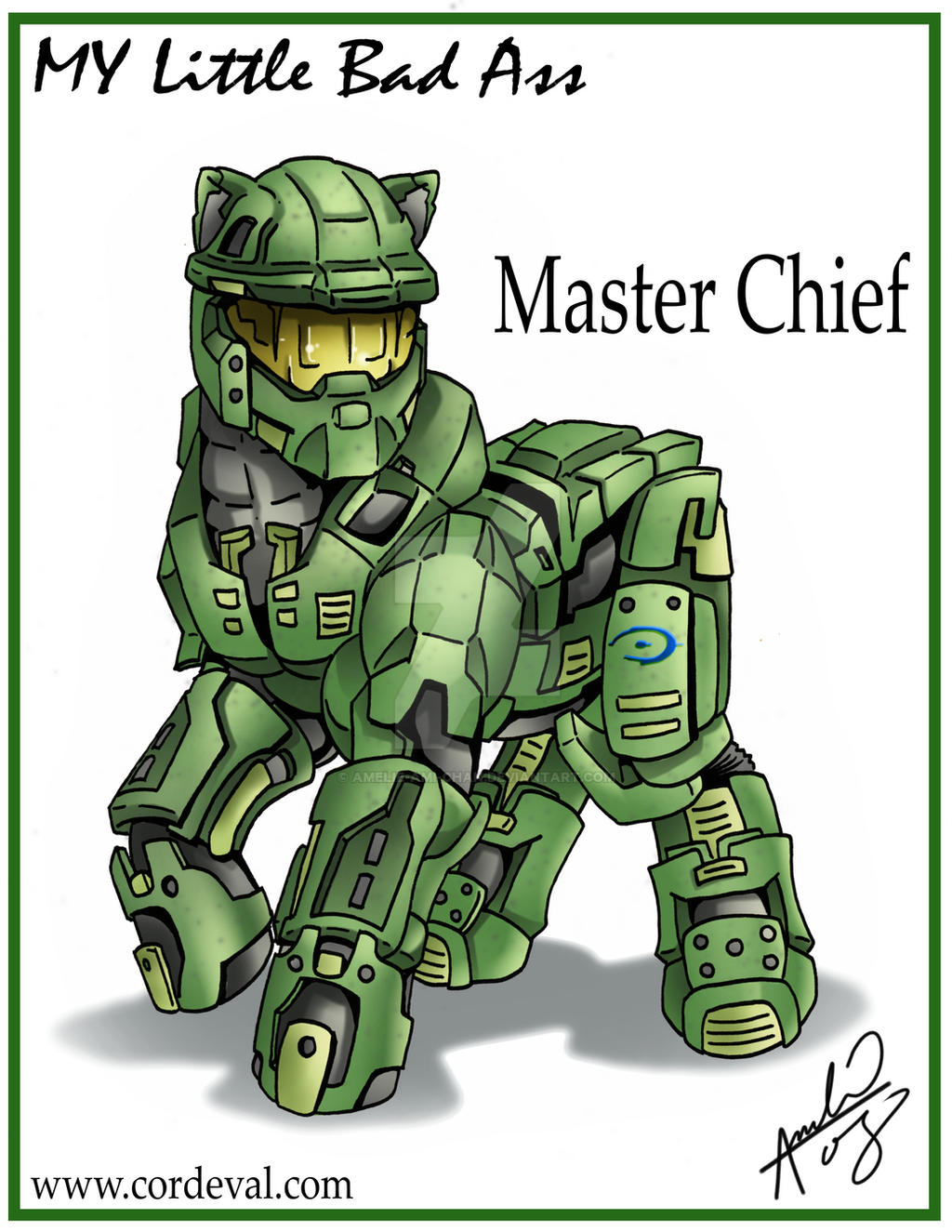 My Little Bad Ass Master Chief by Amelie-ami-chan