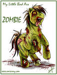 My Little Bad Ass Zombie Pony