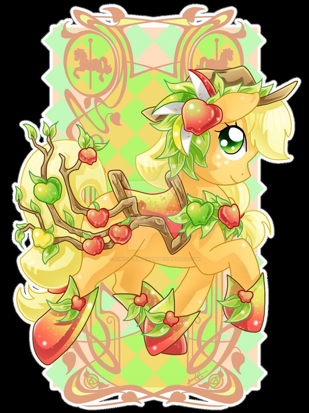 Apple Jack Carousel Cutie