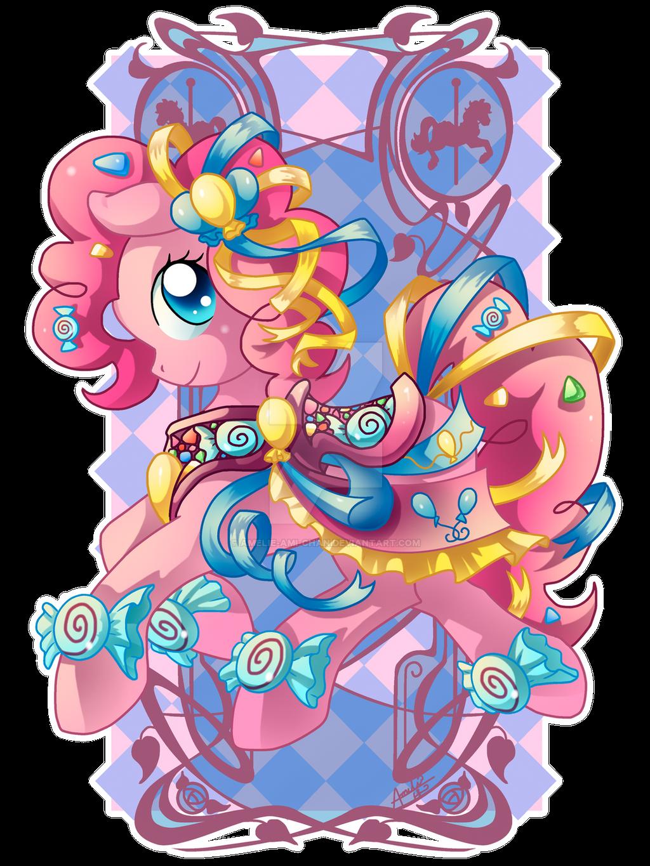 Pinkie Pie Carousel Cutie by Amelie-ami-chan
