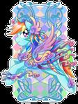 Rainbow Dash Carousel Cutie