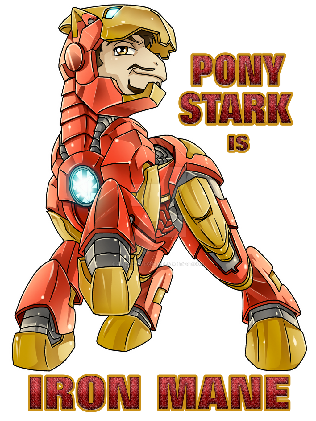 Pony Stark is Iron Mane by Amelie-ami-chan