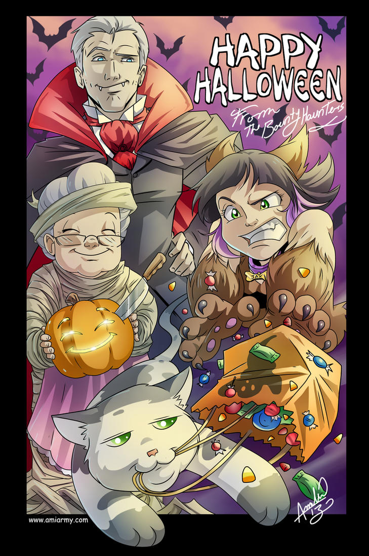 Happy Halloween! by Amelie-ami-chan