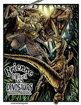 Brienne Of Tarth Vs Dinosaurs