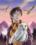 Harry Potter and Headwig