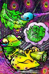 Smoker frog - Rana fumadora
