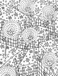 Dandelions - Dientes de leon - Line art by miguelam76