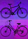 -Ride a bike together- Color
