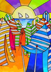 -Casetas de San Lorenzo- Color