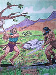 King Kull vs Conan The Barbarian