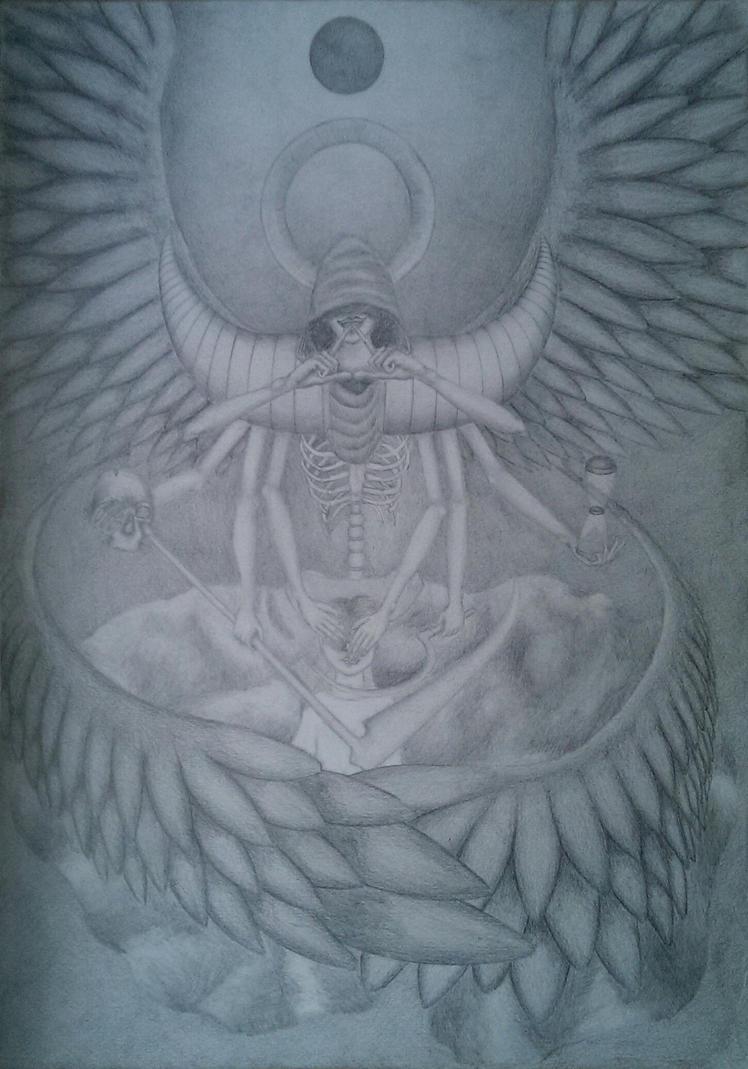 Azrael - angel of death by TrebuszeQ