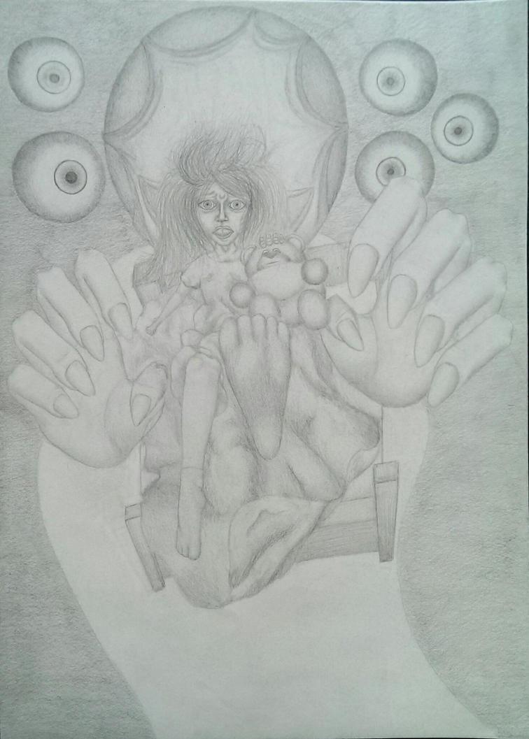 Little Girl Nightmare by TrebuszeQ
