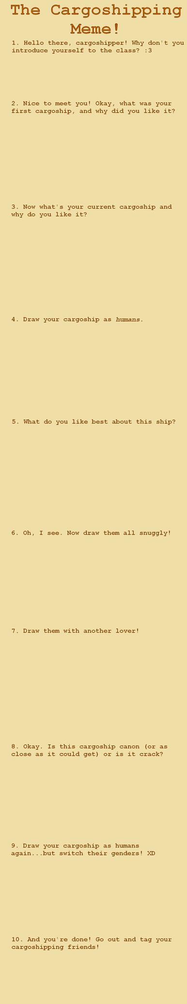 Cargoshipping Meme by Lady-Moth