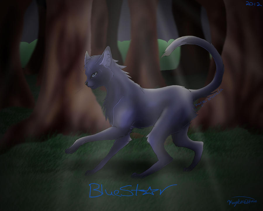 BlueStar by FrostLine1448