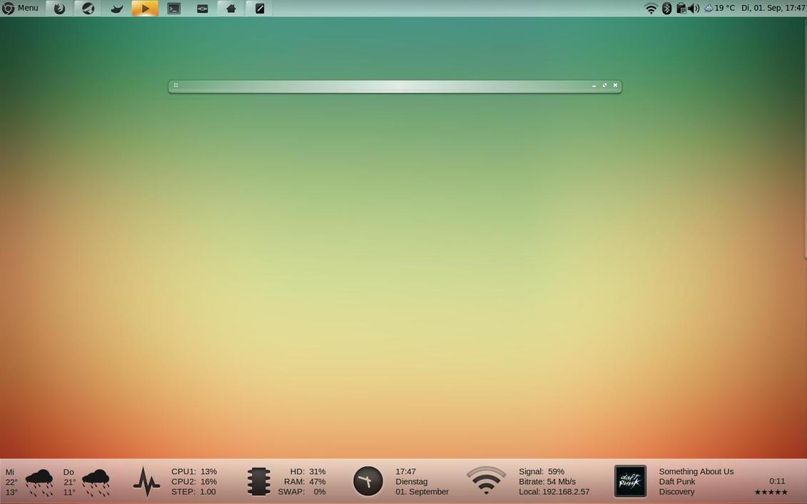 Tonky Desktop by BigRZA