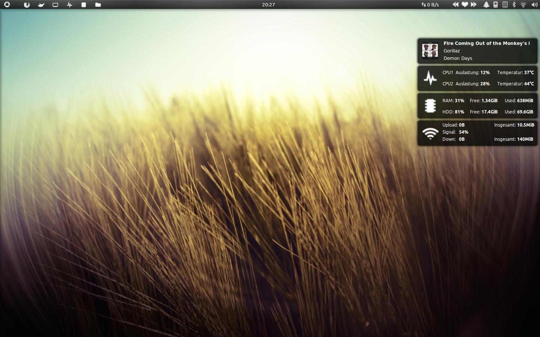 NotifyConky Desktop by BigRZA