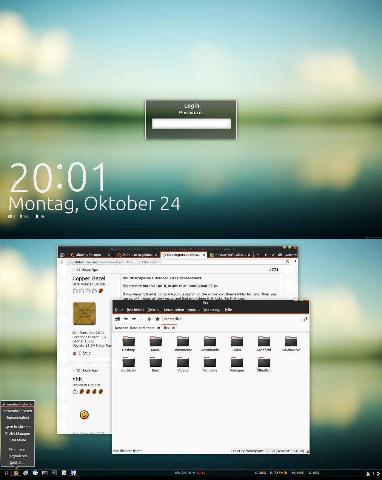 Ubuntu Slimshot by BigRZA