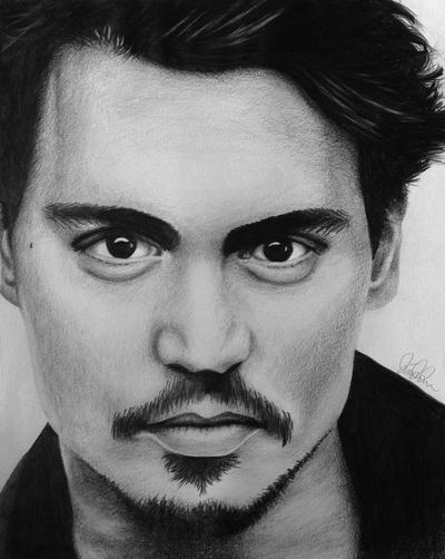 Johnny Depp by LineLR