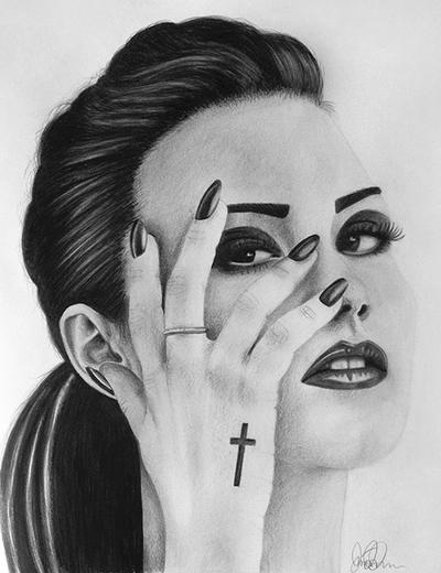 Demi Lovato by LineLR