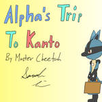 Alpha's Trip to Kanto (Comic) - Cover Page