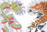 Ryo basesu Tora (Dragon VS Tiger)