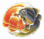 Fighting Fish Flash Art