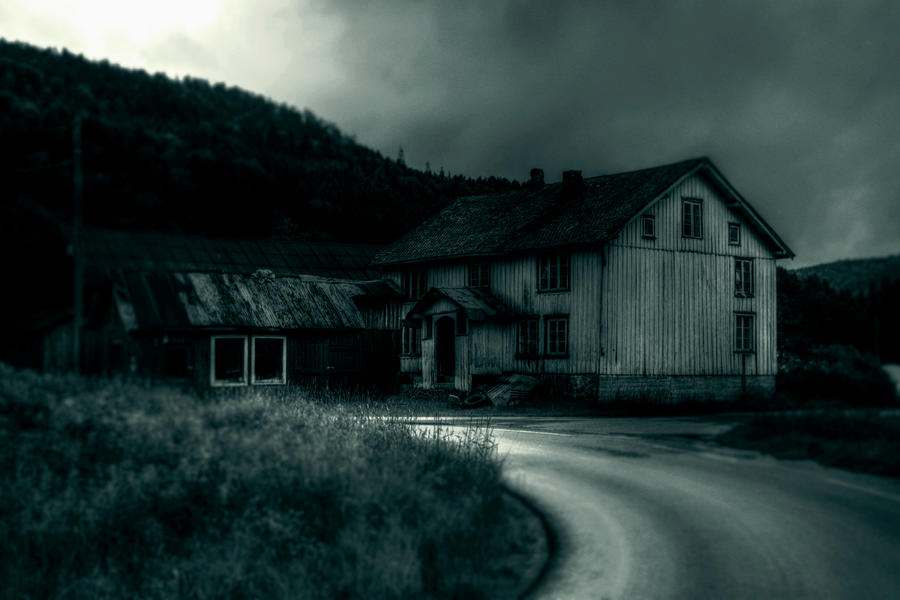 ..where the shadows reign... by Espen-Alexander