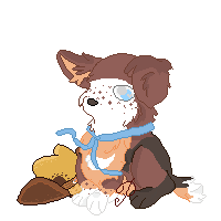 For PoonieFox--Pixel Commission by Pinkedalink