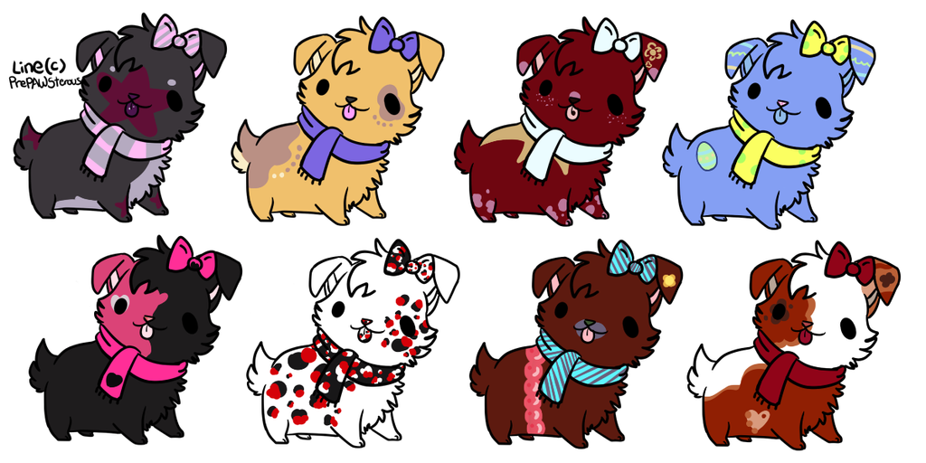 Little Doggie Adopts 3/8 -Open- by Pinkedalink