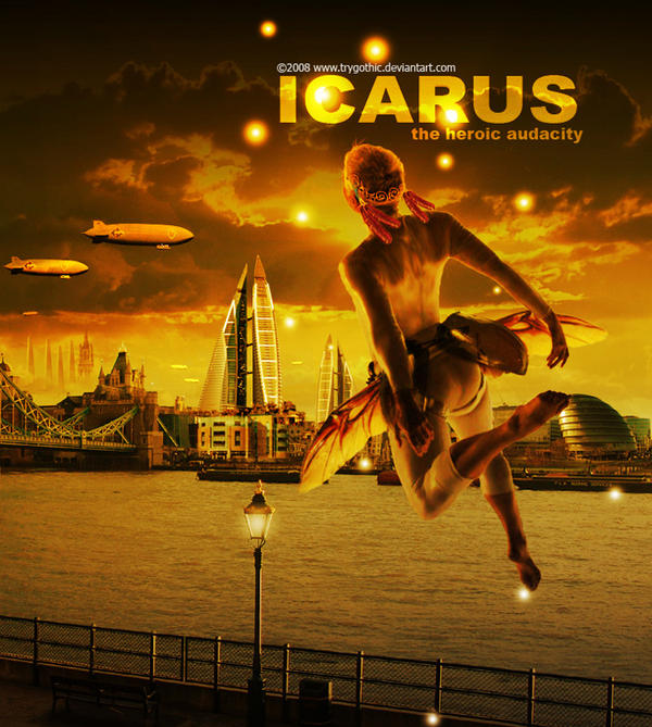 Icarus by trygothic