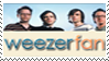 weezer fan stamp by trygothic