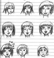 A Dozen Faces by BasicRowan