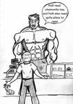 Coffee Bean and Tea Hulk