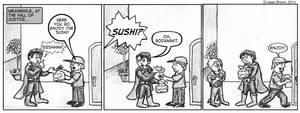 Superman Sushi