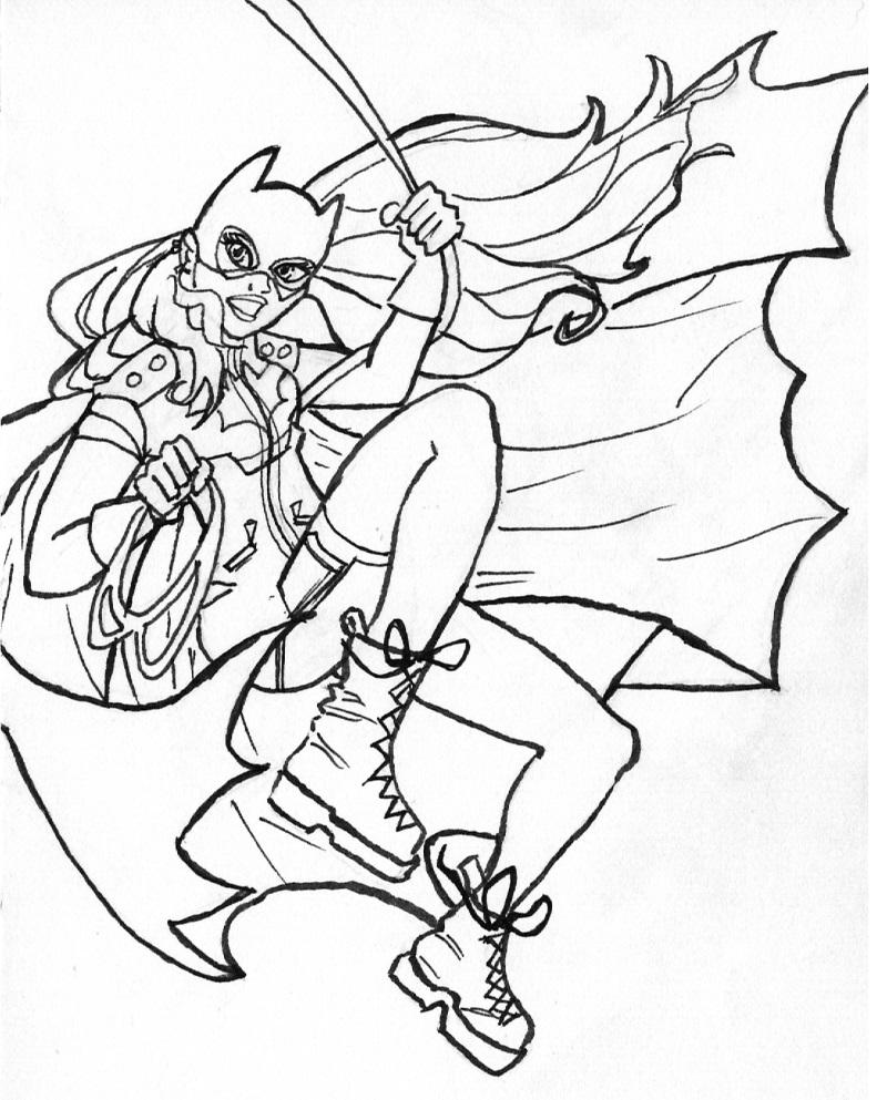 Batgirl by BasicRowan