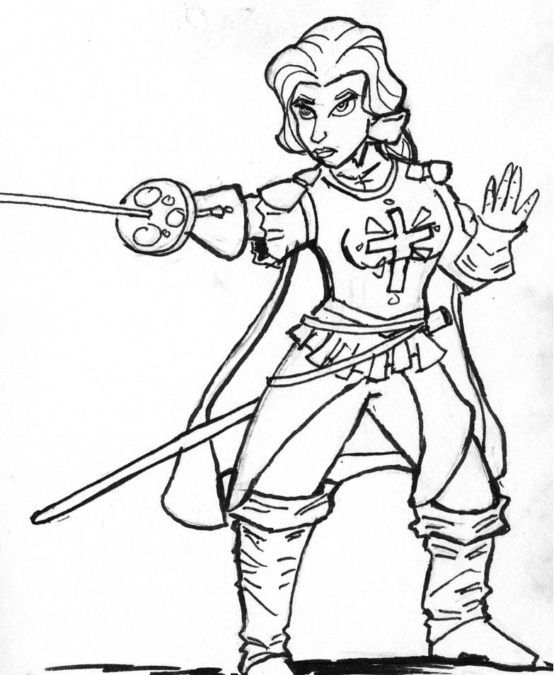 Belle Musketeer by BasicRowan