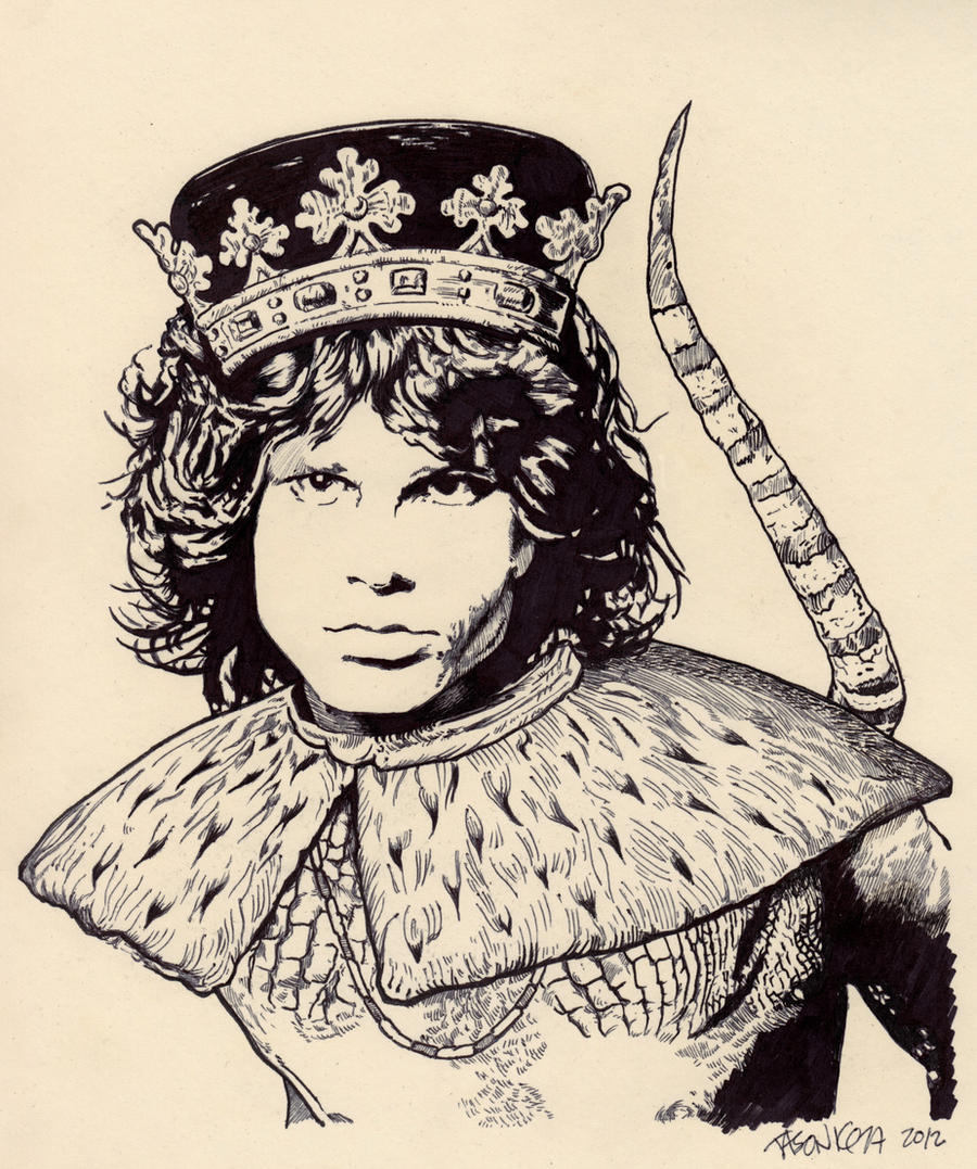 I am the Lizard King, I can do anything. by JasonKoza