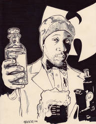 Rza a.k.a. The Scientist - WuTang Clan