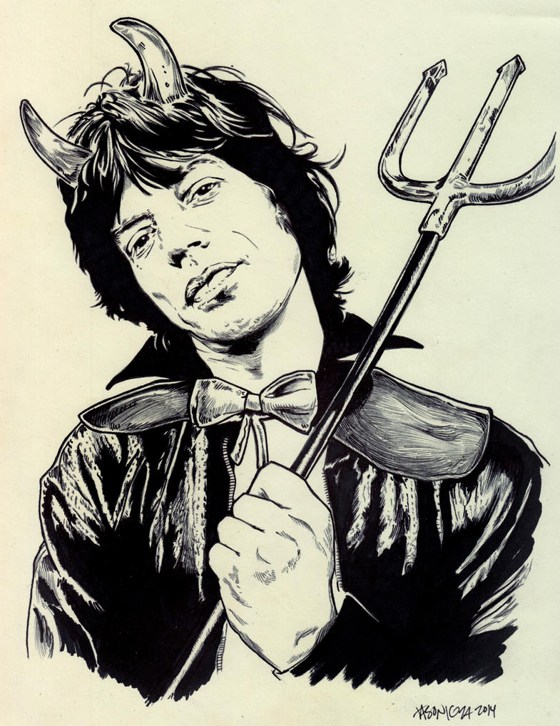 Mick Jagger - Sympathy For The Devil by JasonKoza