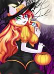 [YCH HALLOWEEN CM] Pumpkin Witch