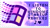 i listen to windows startup remixes by INFINITY-LUV
