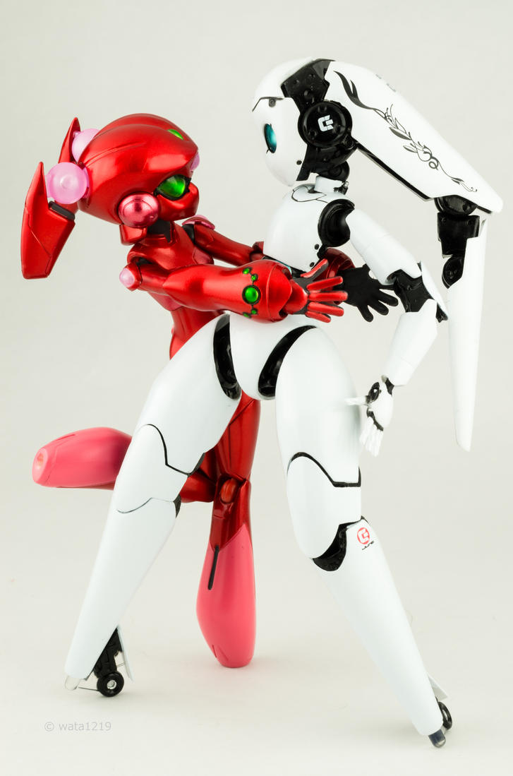 [figma] Scarlet Rain and Drossel (Charming) (2) by wata1219