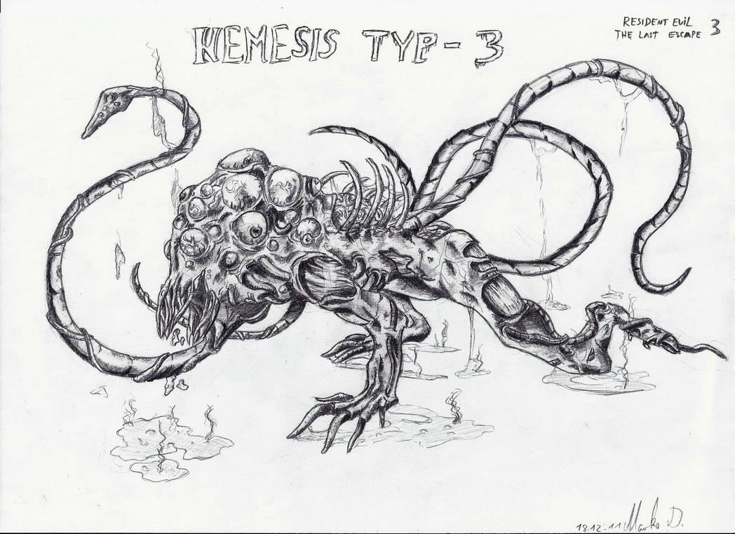 Resident Evil 3 The Last Escape Nemesis Typ 3 By Masterfreezer93