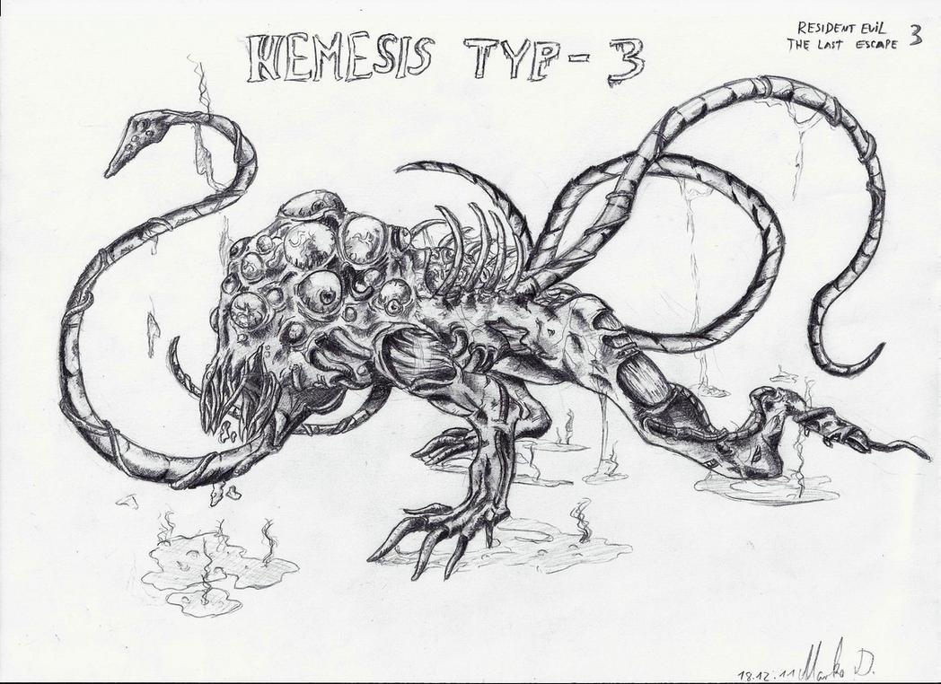 Resident Evil 3: The Last Escape -Nemesis Typ 3 by MasterFreezer93 ...