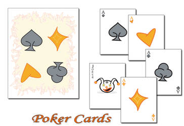Poker Cards by creativespikes