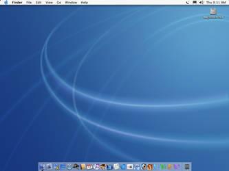 My Desktop Mac OS 10.2 Jaguar by creativespikes