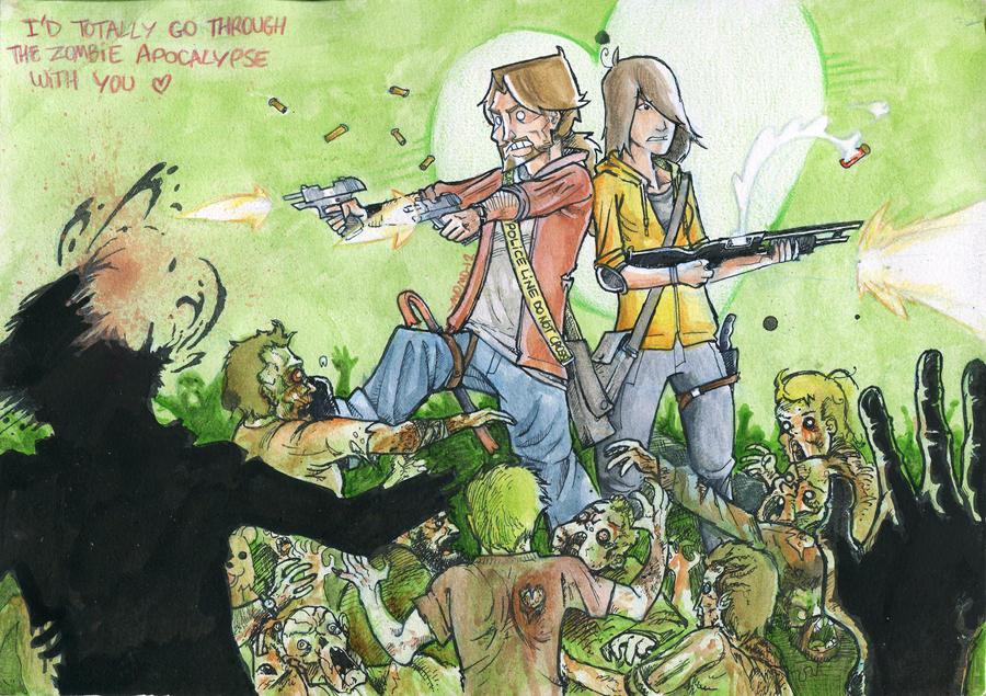 Zombie Valentines by Ekiriam