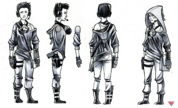 Character sheet : Cassandra