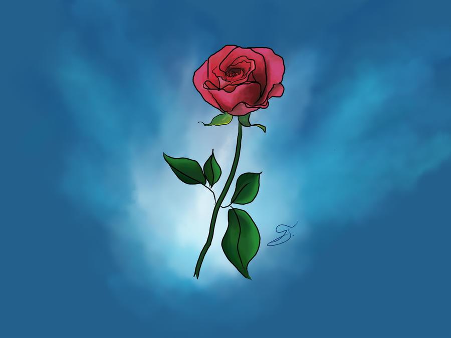 Rose by PetarMKD